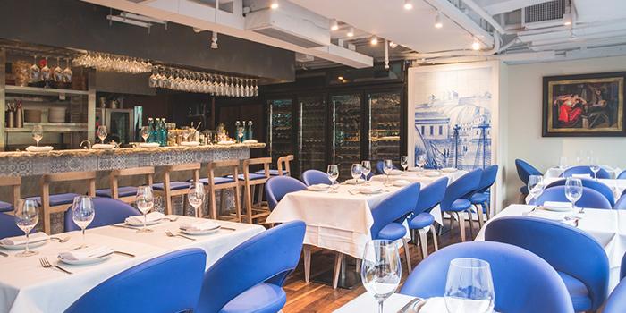 Dining Area, Casa Lisboa Gastronomia Portuguesa, Central, Hong Kong