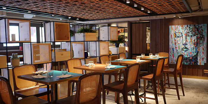 Dining Area, Uma Nota, Central, Hong Kong