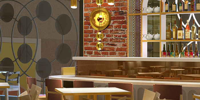 Dining Area, Yum Cha, Causeway Bay, Hong Kong