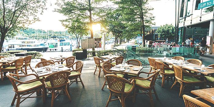 Dining Area of Miska Cafe (Sentosa) in Sentosa, Singapore