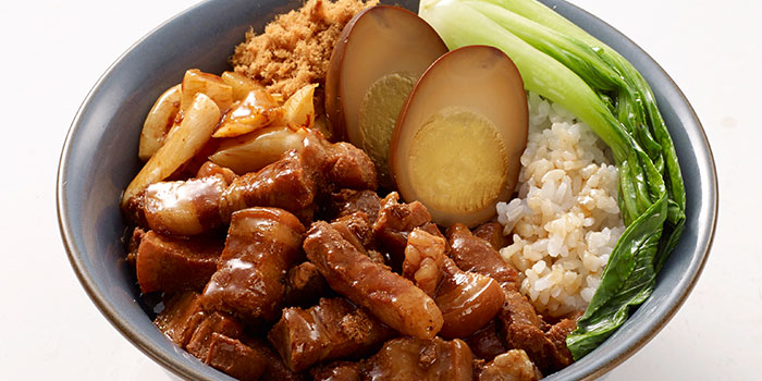 Braised Minced Pork Rice from Eat@Taipei (Kallang Wave Mall) in Kallang, Singapore