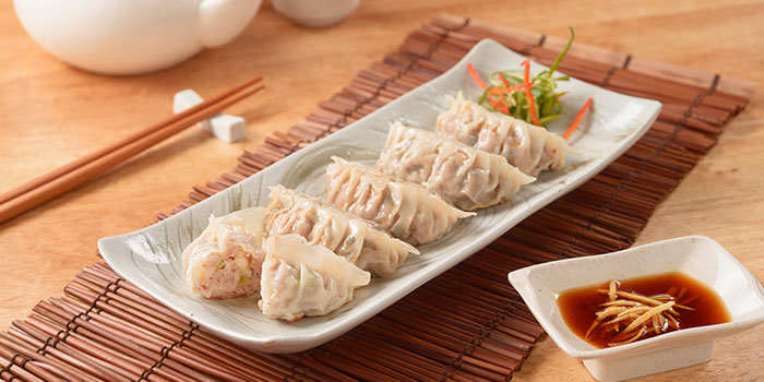 Pork and Cabbage Dumplings from Eat@Taipei (Kallang Wave Mall) in Kallang, Singapore