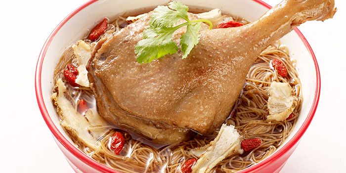Vermicelli Dang Gui Duck Soup from Eat@Taipei (Kallang Wave Mall) in Kallang, Singapore