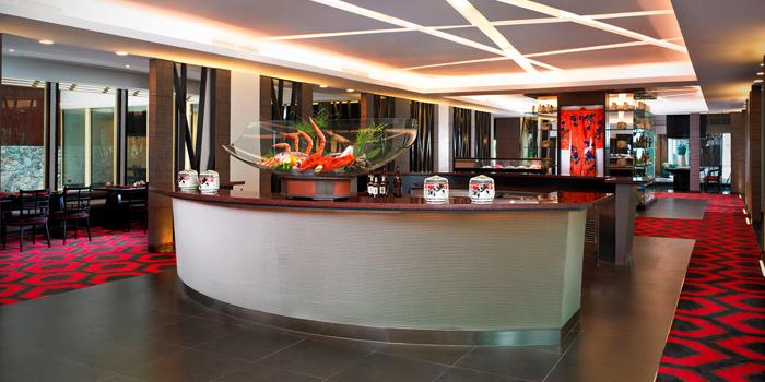 Entrance from Benihana at Anantara Riverside Bangkok Resort 257/1-2 Thonburi, Bangkok