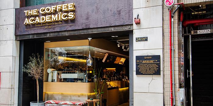 Exterior, The Coffee Academics, Central, Hong Kong
