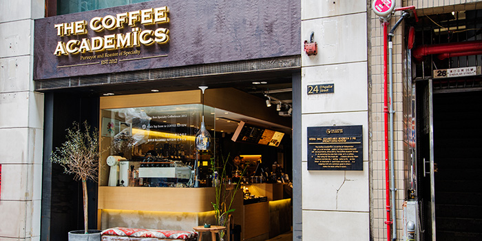 Exterior, The Coffee Academics, Central, Hong Kong