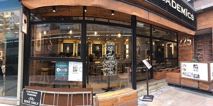 Exterior, The Coffee Academics, Wan Chai, Hong Kong