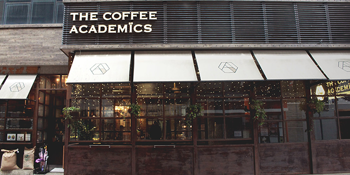 Exterior, The Coffee Academics, Causeway Bay, Hong Kong