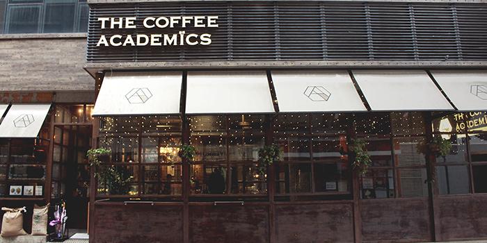 Exterior, The Coffee Academics, Causeway Bay, Hong Kong