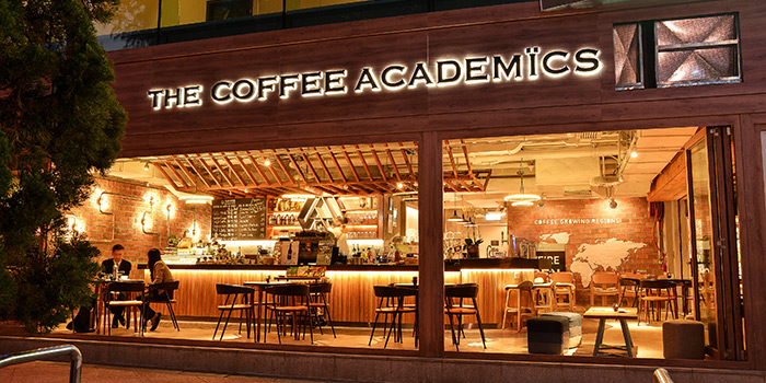 Exterior, The Coffee Academics, Repulse Bay, Hong Kong