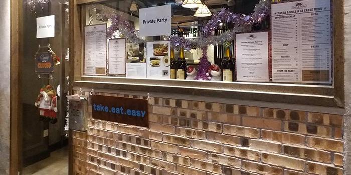 Exterior, Uncle Pizza, Pasta & Grill, Central, Hong Kong