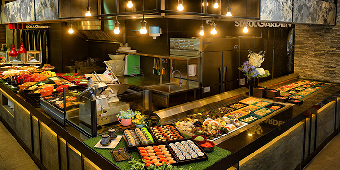 Food Counter from Seoul Garden (Tampines Mall) in Tampines, Singapore
