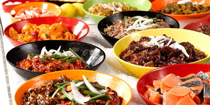 Assorted Meats from Seoul Garden (Tampines Mall) in Tampines, Singapore