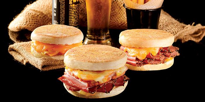 Grilled Cheese Sandwich, The Garage Bar, Mong Kok, Hong Kong