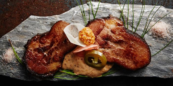 Grilled Pork from Insects in the backyard at 460/8 Sirindhorn Rd Bang Phlat, Bang Phlat Bangkok