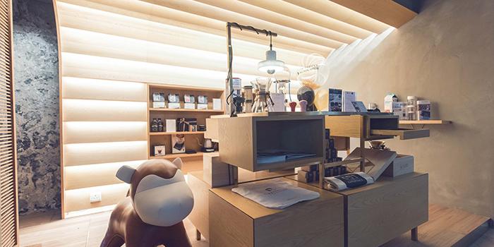 Interior, The Coffee Academics, Taikoo, Hong Kong