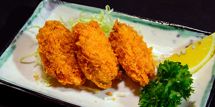 Deep Fried Oyster from KANPAI Izakaya & Bar in Holland Village, Singapore