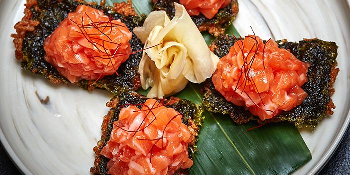 Angel Salmon Tartar, Kyoto Joe, Central, Hong Kong