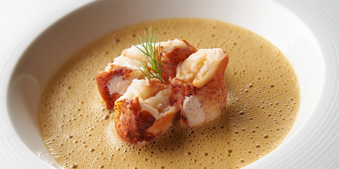 Lobster Bisque from Whale
