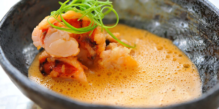 Lobster Bisque from Privé Grill @ The University Club at Shaw Foundation Alumni House in Clementi, Singapore