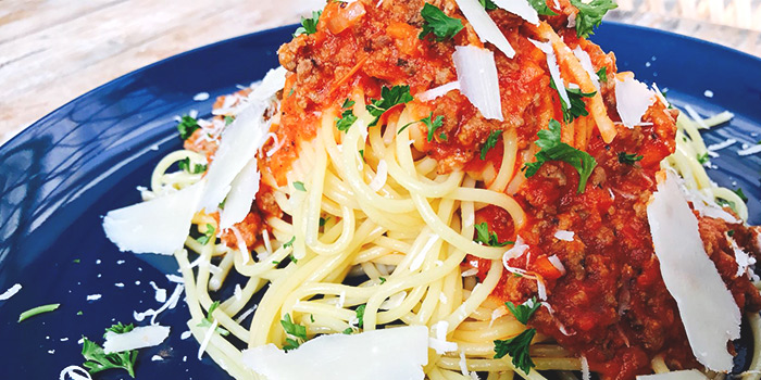 Bolognese from Miska Cafe (Sentosa) in Sentosa, Singapore
