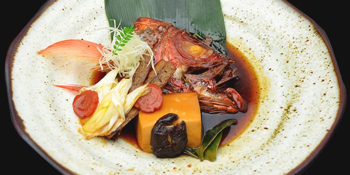 I Pin Ryori-Kabuto Ni from Mitsu Sushi Bar in Duxton, Singapore