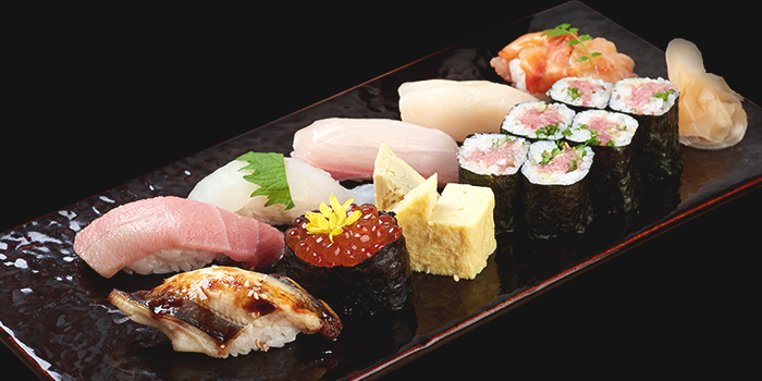 Sushi Moriawase - Sora from Mitsu Sushi Bar in Duxton, Singapore