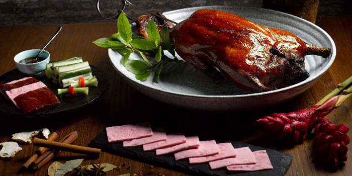 Peking Duck from Majestic Restaurant in Marina One in Marina Bay, Singapore