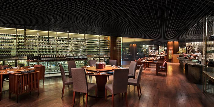 Main Dining Area in mezza9 in Grand Hyatt Singapore in Orchard, Singapore