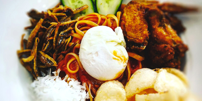 Nasi Lemak Pasta from Yummo Chow in Hotel NuVe Heritage in Bugis, Singapore