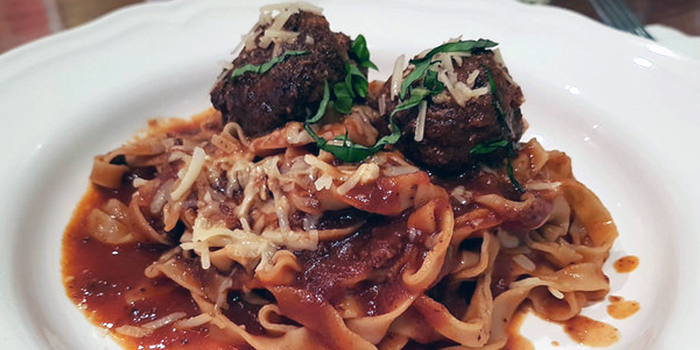 Italian Meatballs from Pastaria Abate (Tanjong Pagar) in East Coast, Singapore