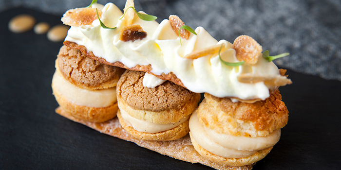 Paris Brest from Privé Grill @ The University Club at Shaw Foundation Alumni House in Clementi, Singapore