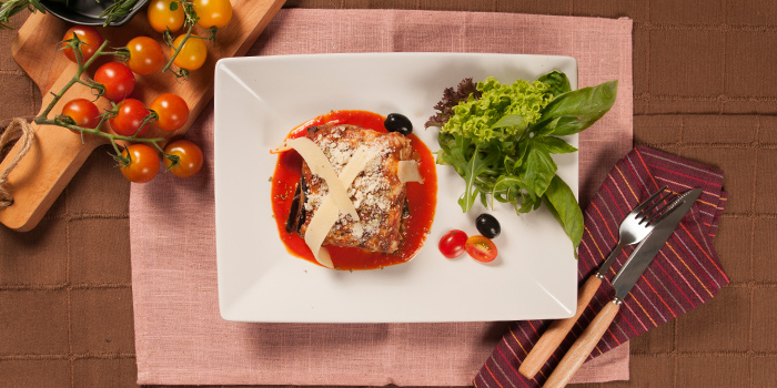 Parmigiana Di Melanzane from Rosso Vino in Robertson Quay, Singapore