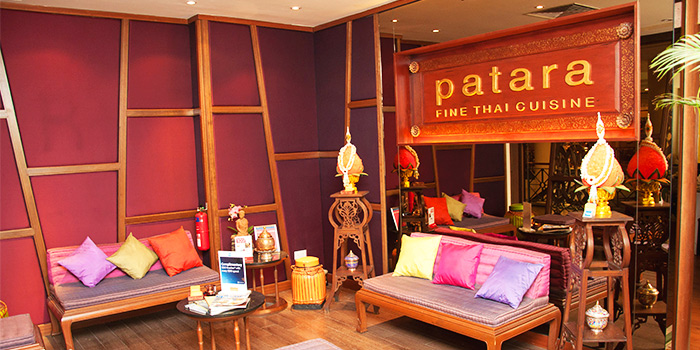 Waiting Area of Patara Fine Thai Cuisine at Tanglin Mall in Tanglin, Singapore