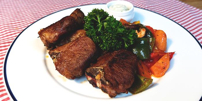 Grilled Sirloin Steak from Paulaner Bräuhaus at Millenia Walk in Promenade, Singapore