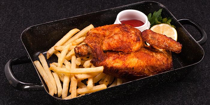 Roast Chicken from Paulaner Bräuhaus at Millenia Walk in Promenade, Singapore