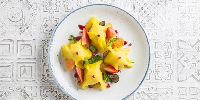 Pineapple raviolis, Casa Lisboa Gastronomia Portuguesa, Central, Hong Kong