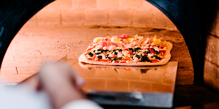 Pizza Oven  from Brio at Anantara Riverside, Bangkok