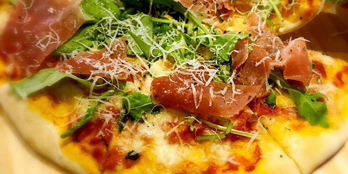 Pizza, Delizia Kitchen, Causeway Bay, Hong Kong