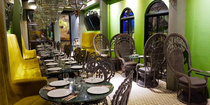 Restaurant-Ambiance of Tantitium in Phuket Town, Muang, Phuket, Thailand