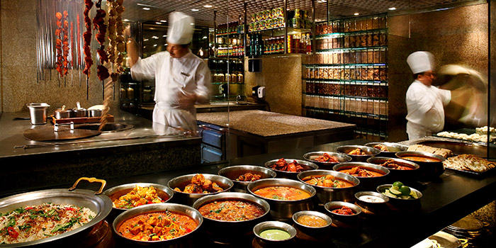 Indian Kitchen from StraitsKitchen in Grand Hyatt in Orchard, Singapore