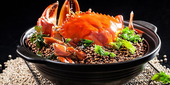 Sautéed giant crab, Shang Palace, Tsim Sha Tsui, Hong Kong