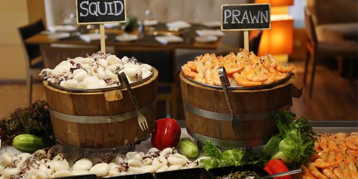 Seafood Corner of Mistral Restaurant at Pullman Bangkok Hotel G 37th Floor, 188 Silom Rd, Bangrak, Bangkok