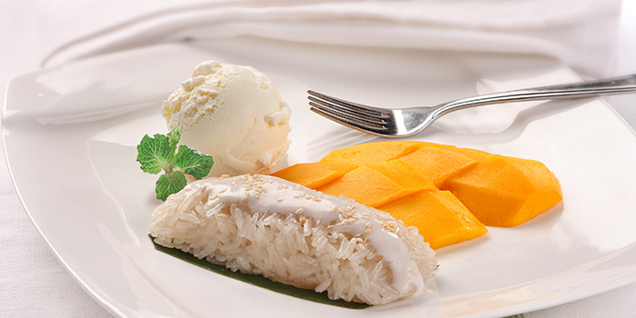 Mango Sticky Rice from Siam Kitchen (Eastpoint Mall) in Tampines, Singapore