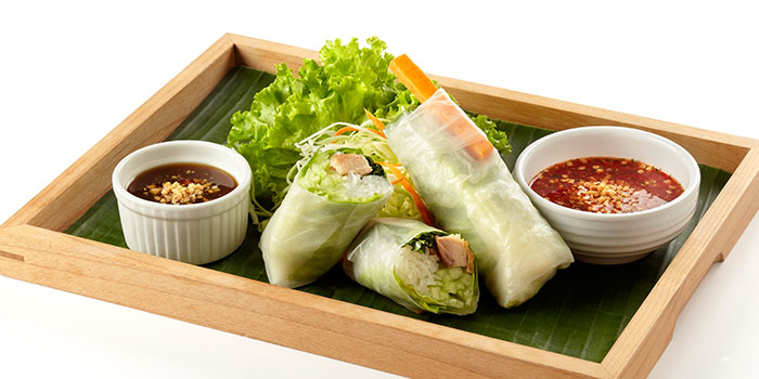 Vietnamese Fresh Rolls from Siam Kitchen (Eastpoint Mall) in Tampines, Singapore