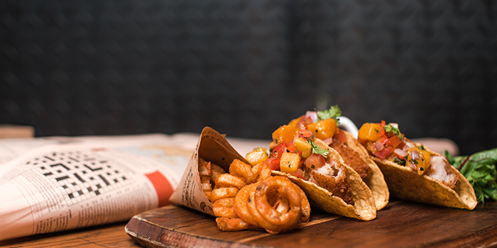 Signature Fish Tacos, The Coffee Academics, Taikoo, Hong Kong