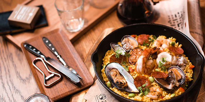 Signature Seafood Paella, The Coffee Academics, Taikoo, Hong Kong