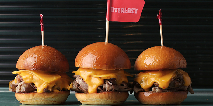 Philly Cheesesteak Slider from OverEasy (Orchard) in Orchard, Singapore