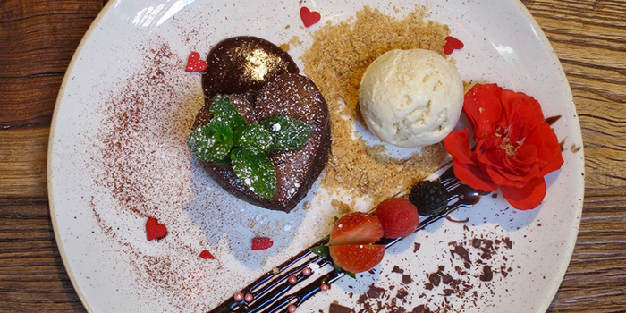 Spicy Chocolate Lava Cake, Shoreditch, Kennedy Town, Hong Kong
