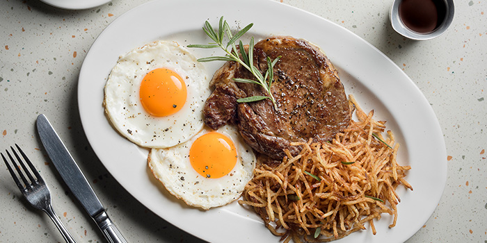 Steak & Eggs from OverEasy (Orchard) in Orchard, Singapore